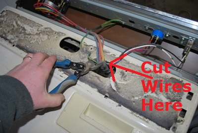 Cutting Wiring Harness