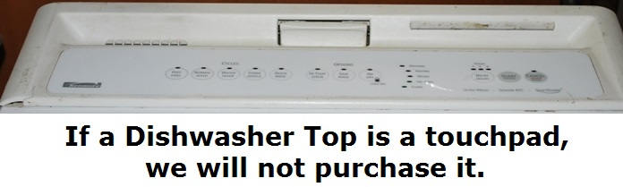 Digital Dishwasher top